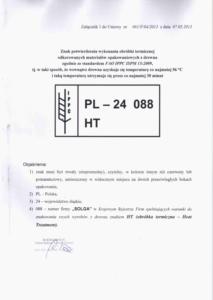 Certyfikaty: OLGA_znak_IPPC